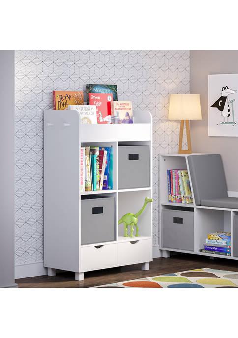 RiverRidge Home Book Nook Kids Cubby Storage Cabinet