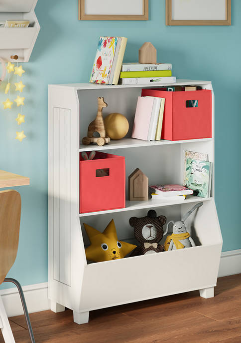 RiverRidge Home Kids 34 Inch Bookcase with Toy
