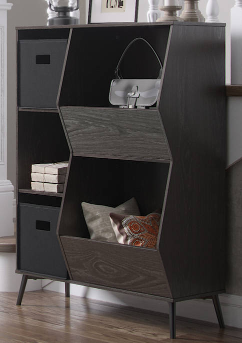 RiverRidge Home Woodbury Storage Cabinet with Cubbies and