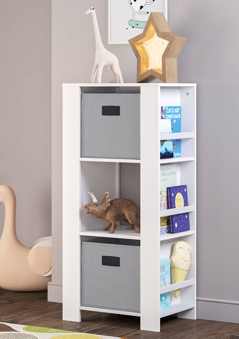RiverRidge Home Book Nook Kids Cubby Storage Tower