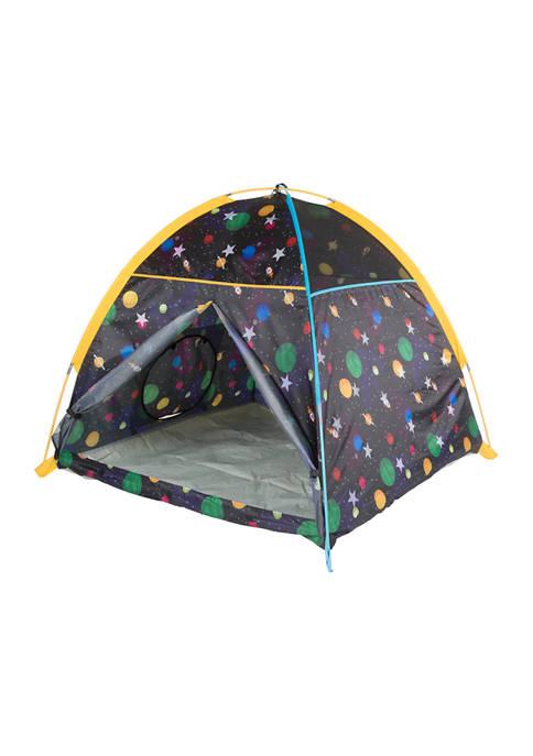 Glow-in-the-Dark Galaxy Dome Tent