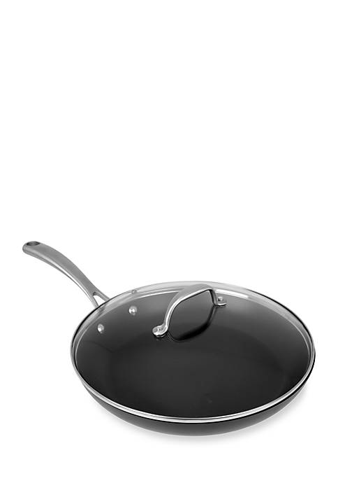 Oneida 12-in. Covered Hard Anodized Fry Pan
