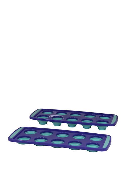 Set of 2 Ice Cube Trays