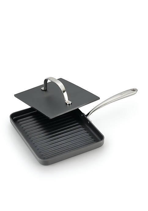 Lagostina Nera 10-in. Panini Pan With Cast Iron