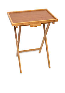 Bamboo Snack Table