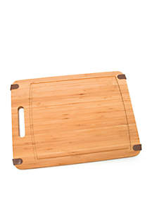Bamboo Cutting Board with Silicone Corners - Online only