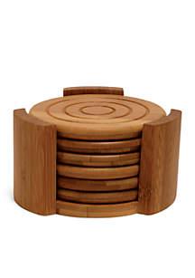 Bamboo 7-Piece Coaster Set