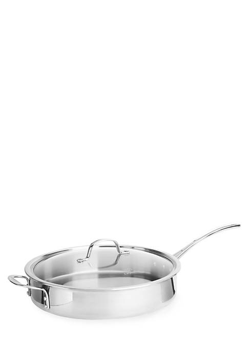 Calphalon® Tri-Ply Stainless Steel 5-qt. Saute Pan with