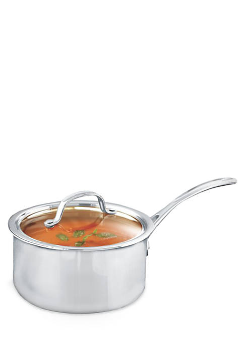 Tri-Ply Stainless Steel 2.5-qt. Saucepan