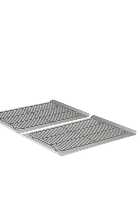 Calphalon® Nonstick Bakeware 4-Piece Large Cookie Sheet &