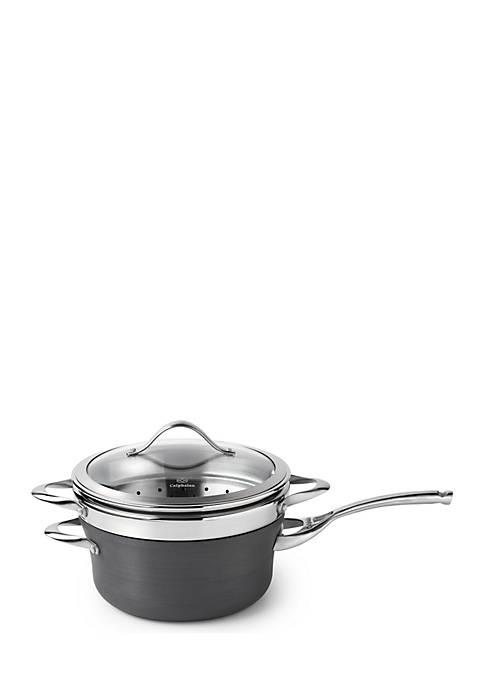 Calphalon® Contemporary Nonstick 4.5-qt. Sauce Pan with Steamer