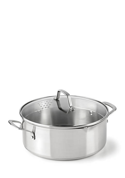 Calphalon® Classic Stainless Steel 5-Quart Covered Dutch Oven