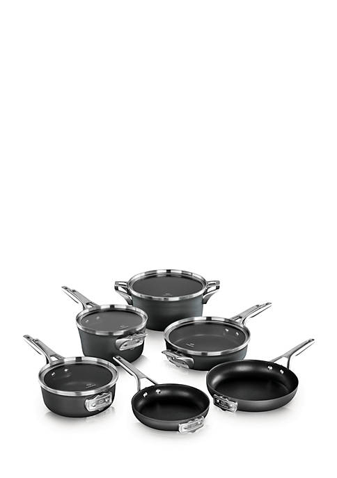 Calphalon® Premier Space Saving Hard Anodized Nonstick 10-Piece
