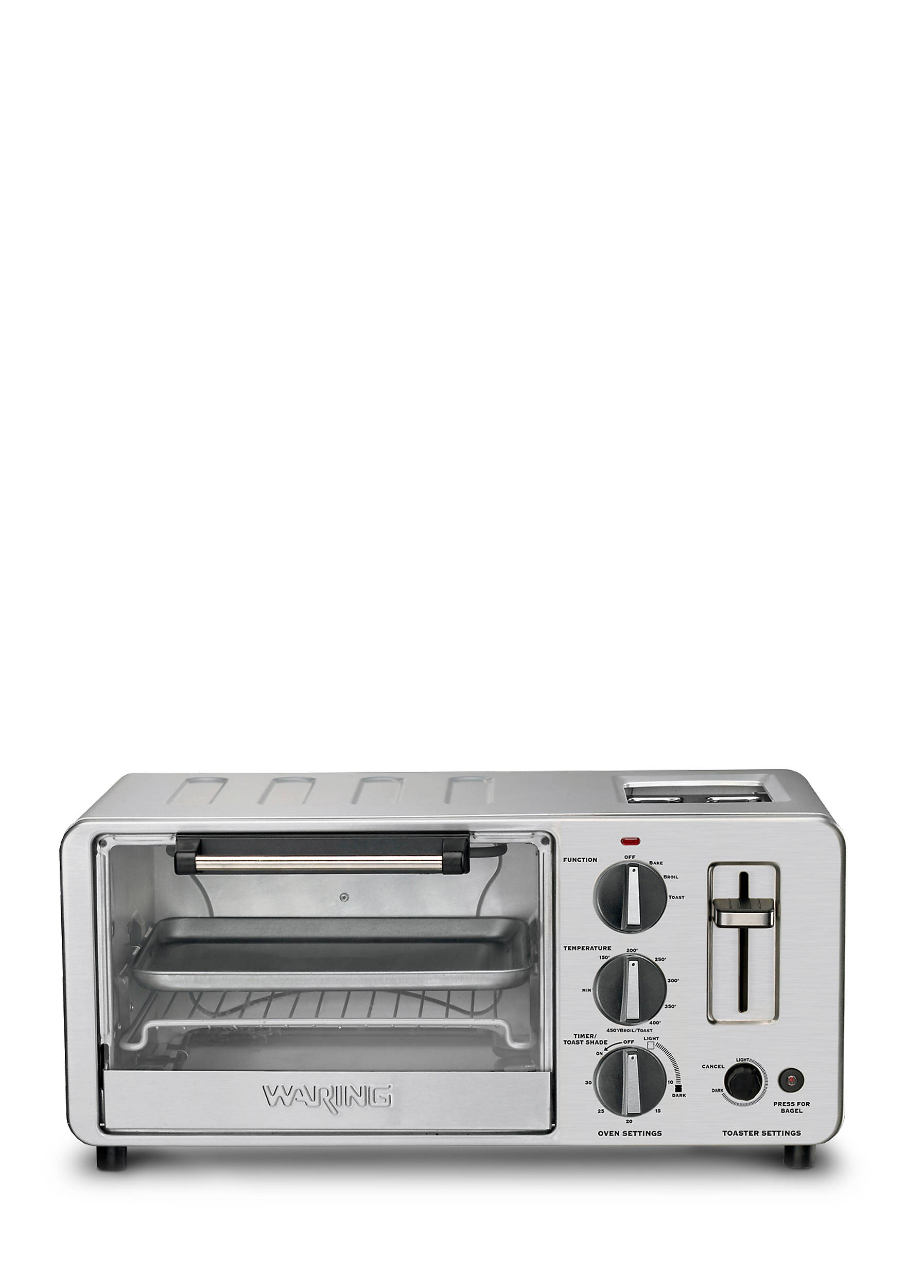 slice toasting countertop stainless c reviews and rack waring toaster includes oven amazon steel a ljb convection black blac broil com single pan reviewa bake decker