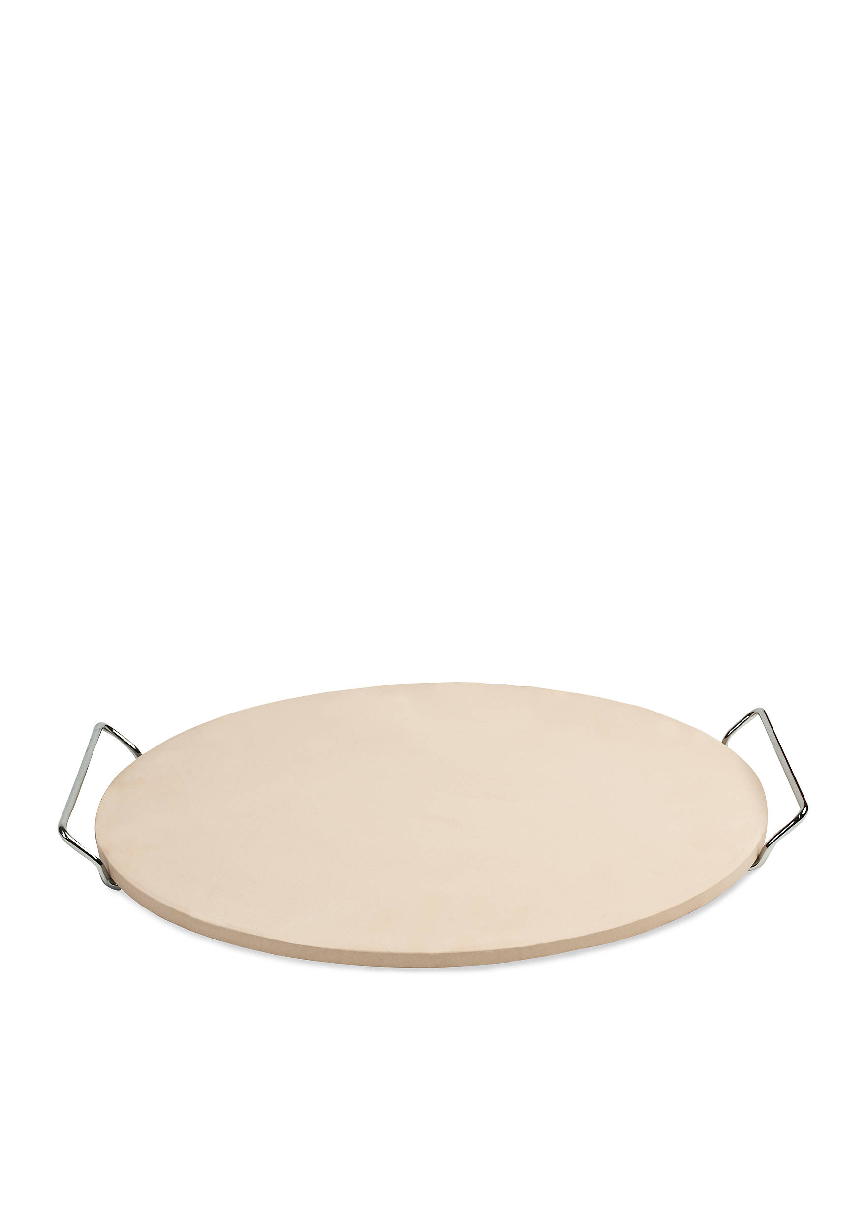 Cooks Tools™ 15-in. Round Pizza Stone with Wire Frame | belk