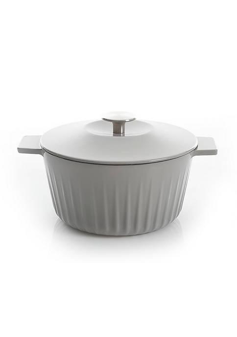 3 Quart Enamel Cast Iron Round Dutch Oven