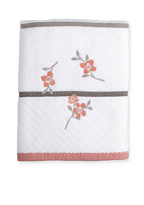 Coral Garden Bath Towel 50-in. x 25-in.