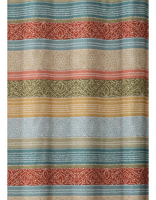 Skl Home Kochi Stripe Shower Curtain Belk