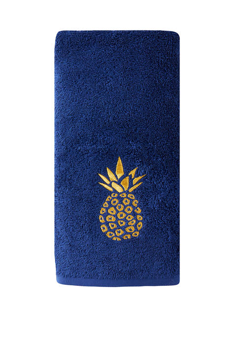 Set of 2 Pineapple Hand Towels