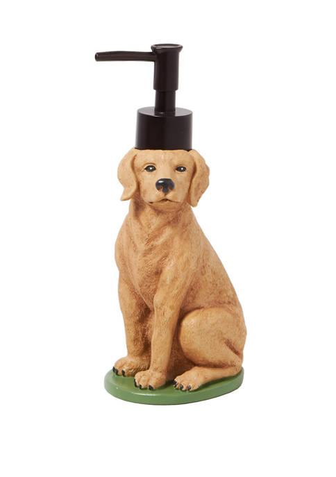 Saturday Knight Adirondack Dogs Lotion/Soap Dispenser