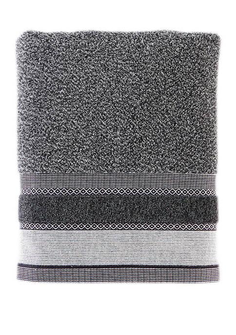 27 in x 50 in Geo Bath Towel
