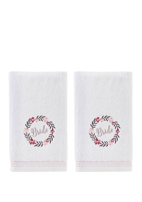 SKL Home Bridal Wreath 2 Piece Hand Towel