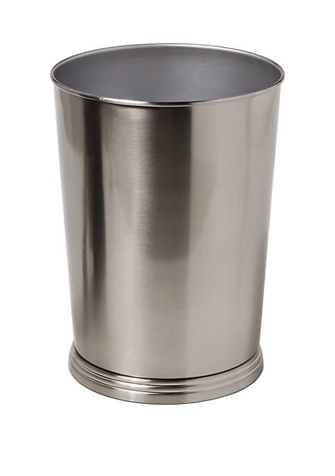 SKL Home Roche Brushed Metal Wastebasket