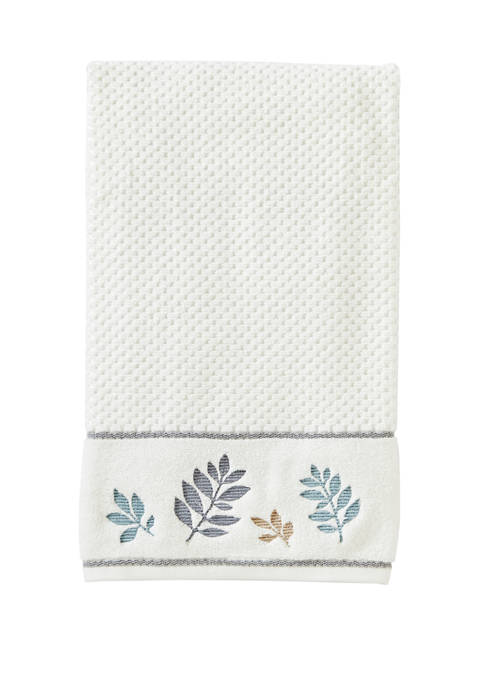 Pencil Leaves Bath Towel