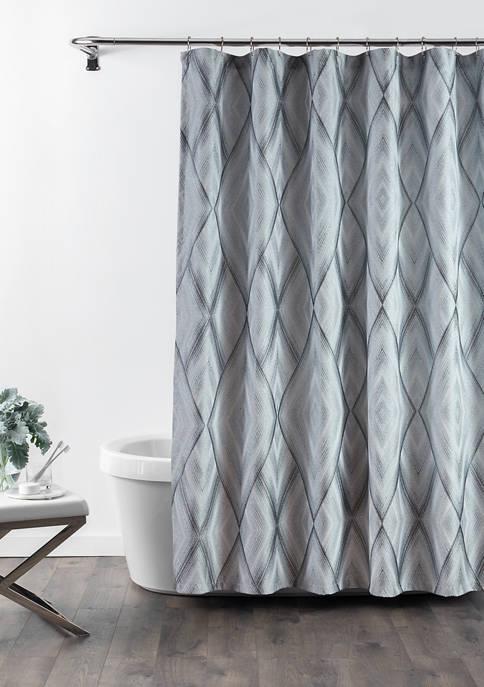 Croscill 72 in x 72 in Echo Shower