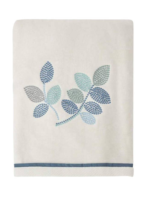 Croscill Mosaic Leaves Bath Towel 27-in. x 50-in.