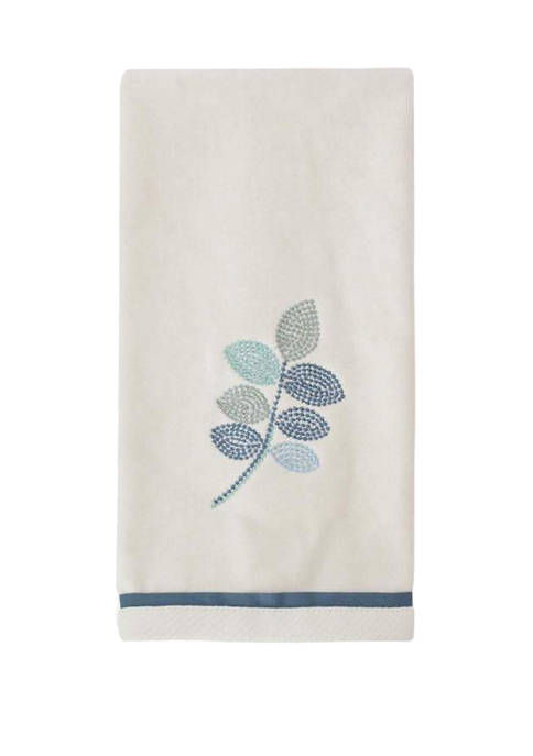 Croscill Mosaic Leaves Hand Towel 16-in. x 26-in.