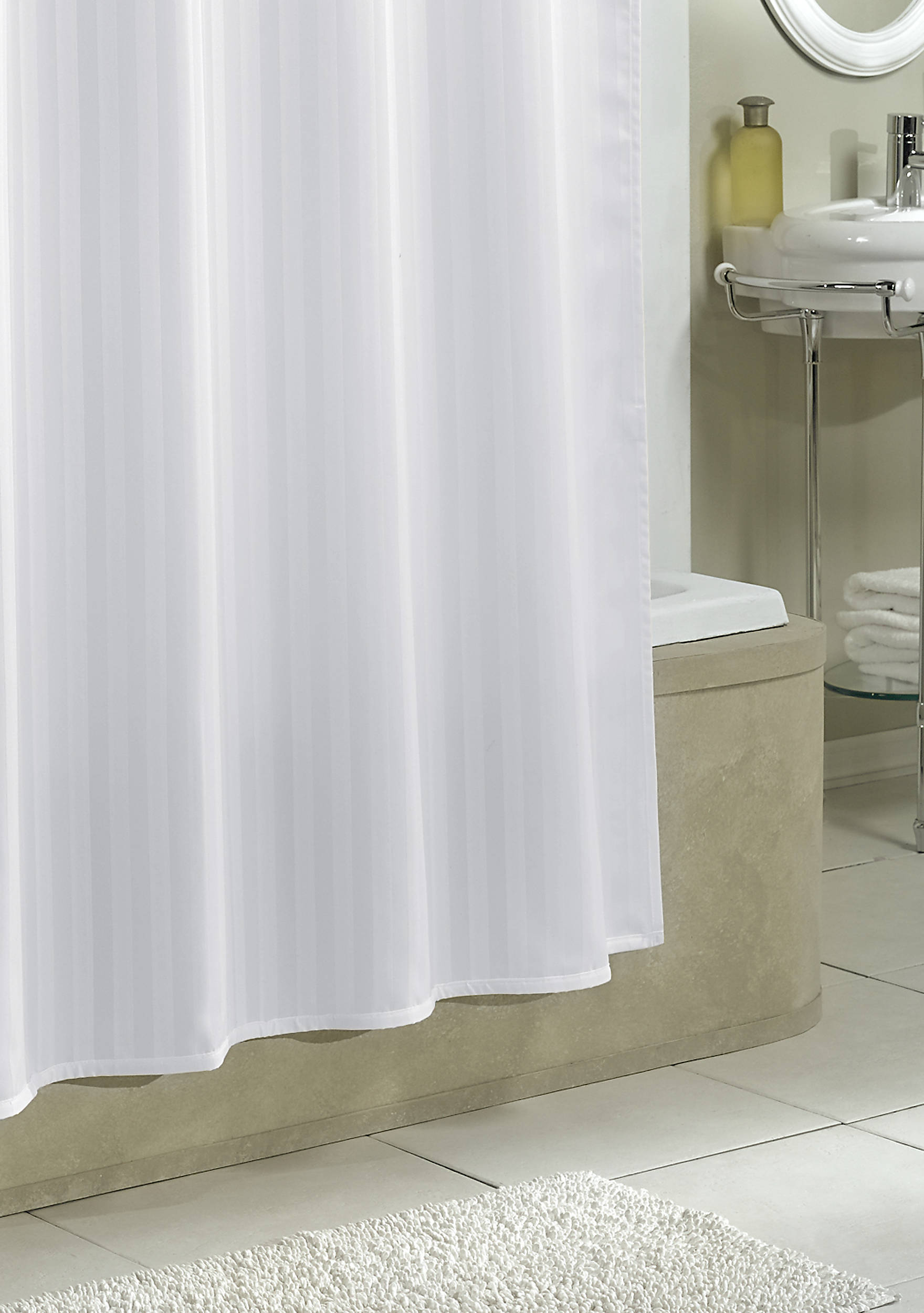 Washing Cloth Shower Curtain Liner