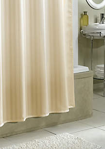Stripe Fabric Shower Curtain Liner