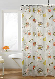Excell Confessions Shower Curtain