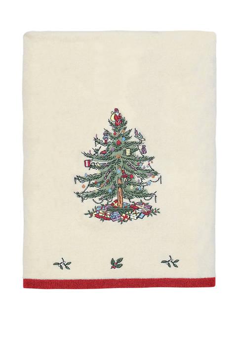 Spode Christmas Tree Bath Towel