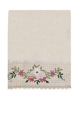 Victoria Emboidered Bath Towel
