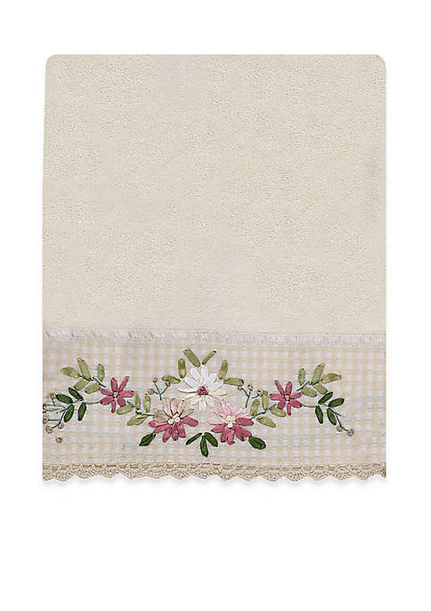 Avanti Victoria Emboidered Bath Towel