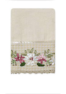 Victoria Emboidered Hand Towel