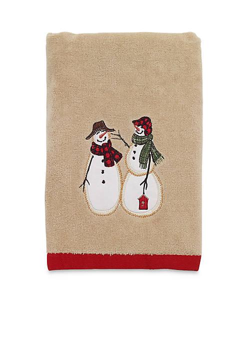 Avanti Snowmen Gathering Hand Towel