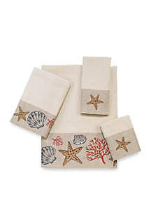 Sea Treasure Ivory Towel Collection - Online Only