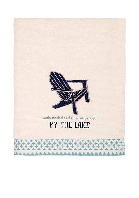 Lake Life Bath Towel