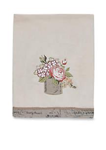 Antique Bouquet Bath Towel