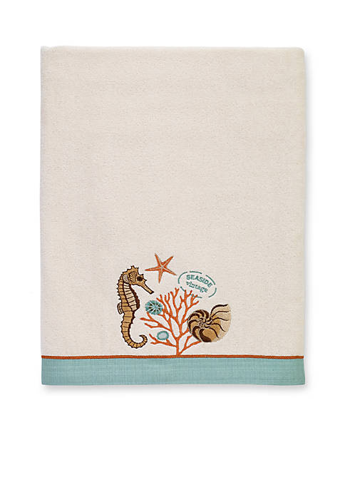 Avanti Seaside Vintage Bath Towel