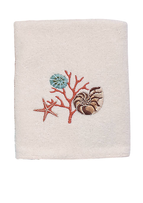 Avanti Seaside Vintage Washcloth