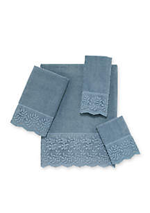 Carly Lace Hand Towel 16-in. x 30-in.