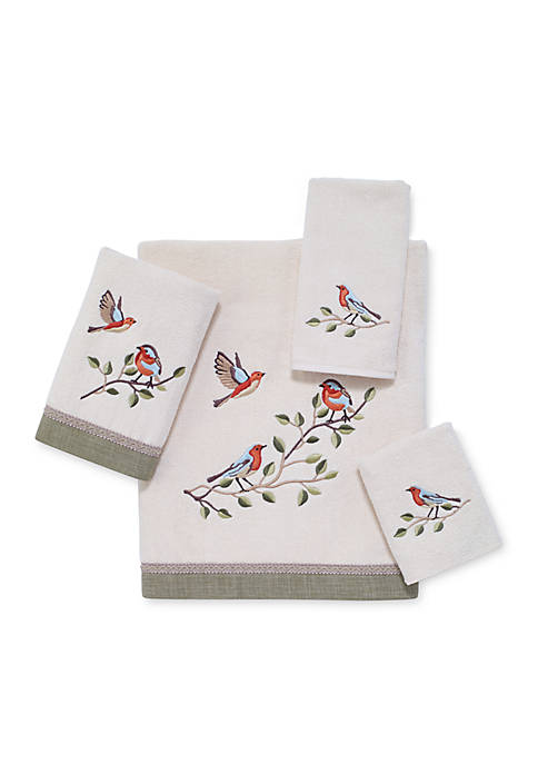 Avanti Bird Choir Bath Towel 27-in. x 50-in.