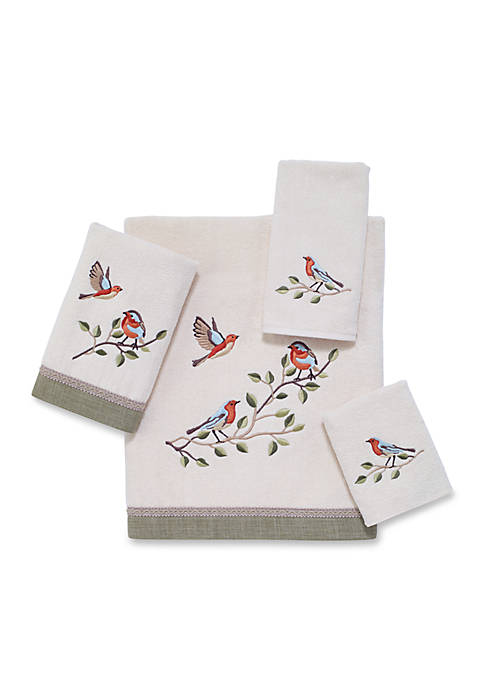 Avanti Bird Choir Fingertip Towel 11-in. x 18-in.