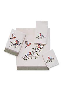Bird Choir Fingertip Towel 11-in. x 18-in.
