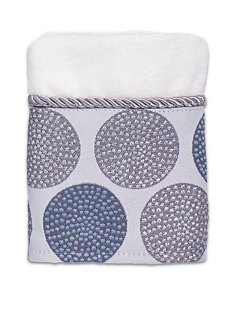 Avanti Dotted Circle Washcloth