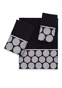 Dotted Circles Bath Towel Collection